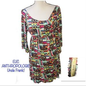 • ANTHROPOLOGIE | EUC | Retro Tribal Dress •
